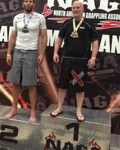 Randy Brown North American Grappling Association Champion