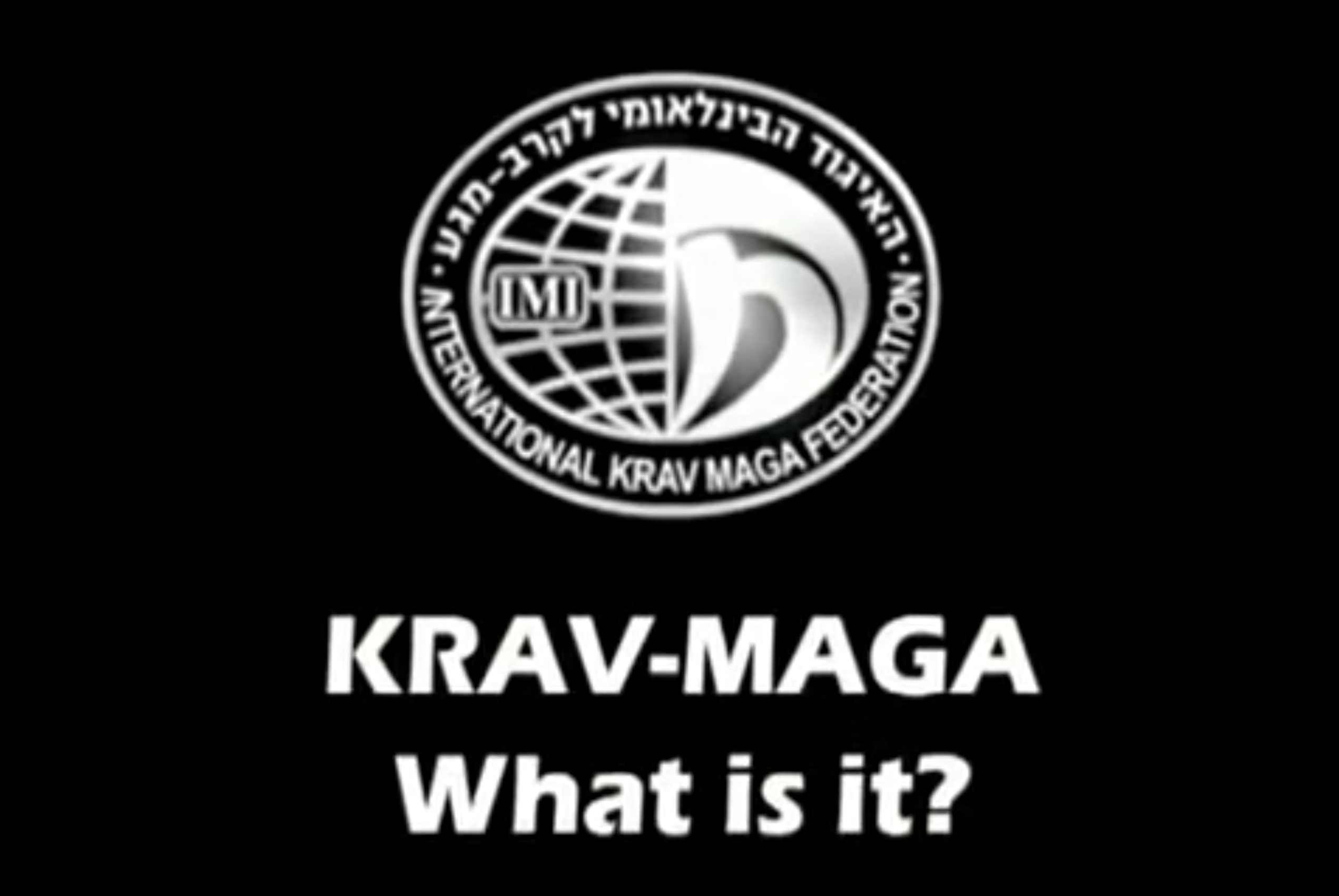 Video what is krav maga