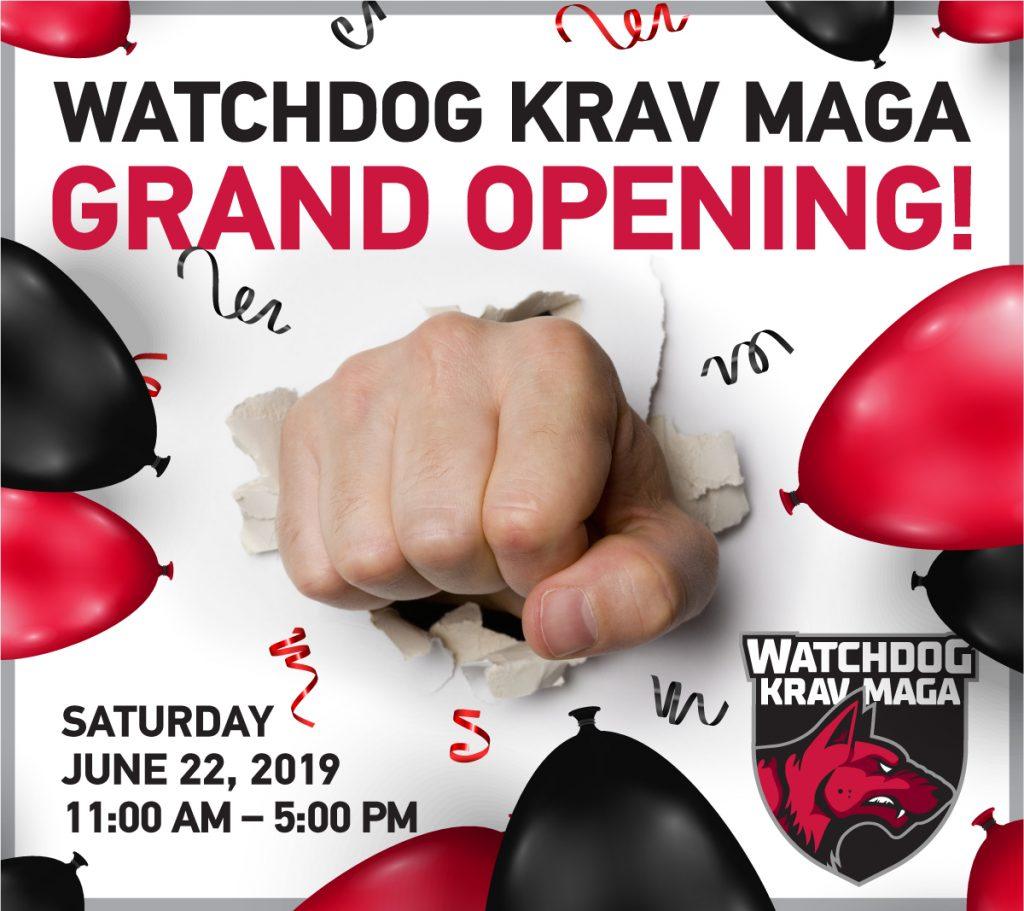 Watchdog Krav Maga Grand Opening