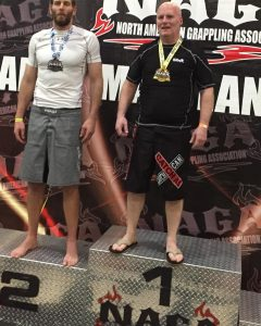 Randy Brown North American Grappling Association Champion
