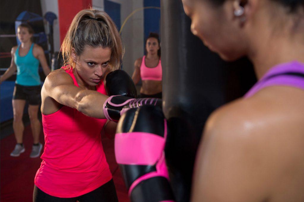 HIIT Classes - boxing